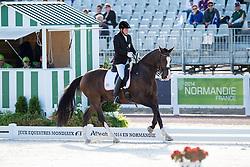 Bernd Brugger, (AUT), Denigo - Team Competition Grade III Para Dressage - Alltech FEI World Equestrian Games™ 2014 - Normandy, France.<br /> © Hippo Foto Team - Jon Stroud <br /> 25/06/14