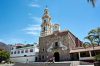 Parroquia San Andres Apostol, Ajijic, Mexico.  Ajijic, Jalisco, Mexico. Photo: Peter Llewellyn