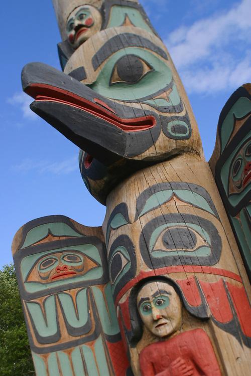 Totem, Ketchikan, Tlingit/Haida