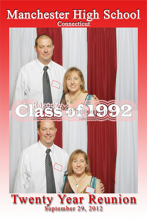 The Manchester High School Class of 1992 Twenty Year Reunion held on September 29, 2012 at Adam's Mill in Manchester.