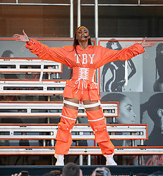 Ciara is seen at 'Jimmy Kimmel Live' in Los Angeles, California. 16 May 2019 Pictured: Ciara. Photo credit: RB/Bauergriffin.com / MEGA TheMegaAgency.com +1 888 505 6342