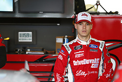 October 5, 2018 - Dover, Delaware, United States of America - Ryan Reed (16) hangs out in the garage during practice for the Bar Harbor 200 at Dover International Speedway in Dover, Delaware. (Credit Image: © Justin R. Noe Asp Inc/ASP via ZUMA Wire)