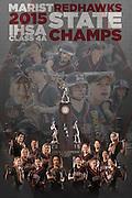 Marist High School Softball Team Schedule Poster. Chicago, IL