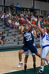 21 June 2008: Megan Considine #35 gets a shot from the middle. IBCA ( Illinois Coaches Basketball Association) Girls Class 1 & 2 All Star Game held at the Shirk Center on the Campus of Illinois Wesleyan University in Bloomington Illinois
