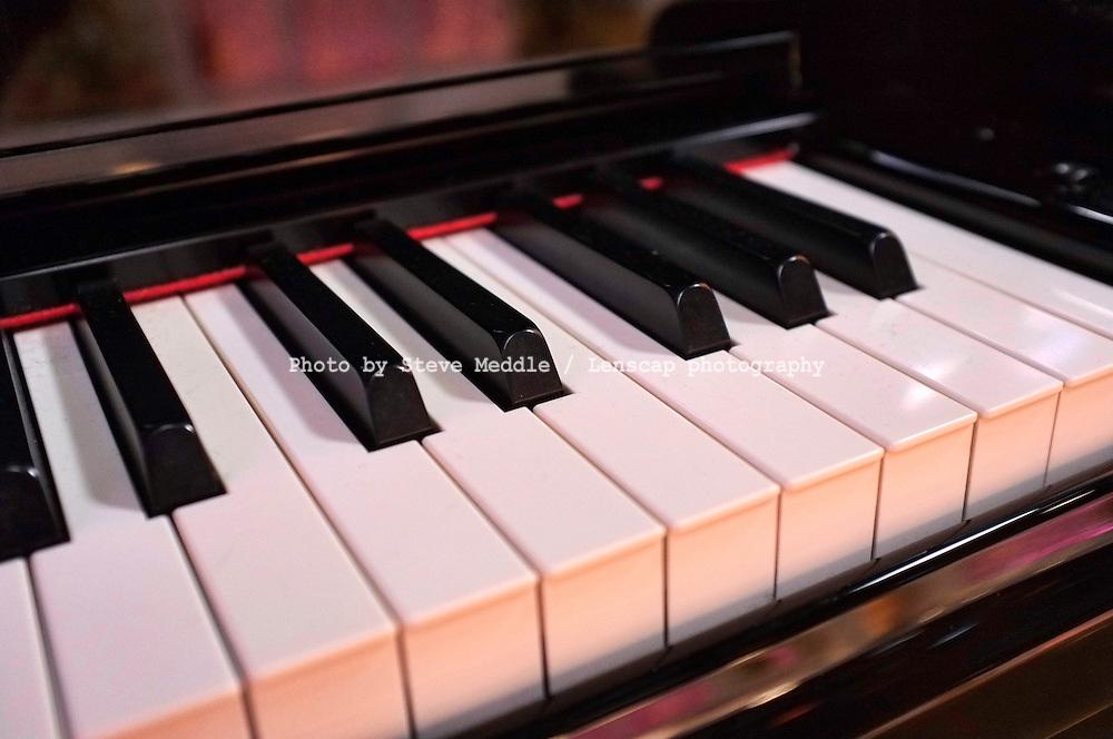 Close-up of Piano Keys - Dec 2011