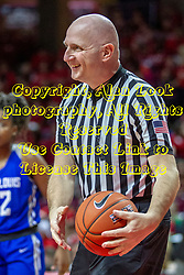 NORMAL, IL - December 20:  Jeff Cross during a college women's basketball game between the ISU Redbirds and the St. Louis Billikens on December 20 2018 at Redbird Arena in Normal, IL. (Photo by Alan Look)