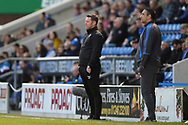 Notts County Manager Kevin Nolan during the EFL Sky Bet League 2 match between Chesterfield and Notts County at the b2net stadium, Chesterfield, England on 25 March 2018. Picture by Jon Hobley.