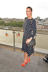 Laura Pradelska at the Emporio Armani YOU fragrance launch at Sea Containers, 18 Upper Ground, London England. 20 July 2017.<br /> Photo by Dominic O'Neill/SilverHub 0203 174 1069 sales@silverhubmedia.com