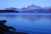 Jenny Lake at Grand Tetons National Park Wyoming