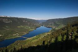 Holsfjorden in Hol, Hallingdal, Norway