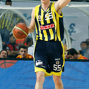 Fenerbahce's Emir PRELDZIC during their Turkish Basketball Legague Play-Off final fifth match Fenerbahce between Galatasaray at the Sinan Erdem Arena in Istanbul Turkey on Tuesday 14 June 2011. Photo by TURKPIX
