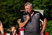 Trefelin v Swansea City u23 friendly at Ynys Park on the 20th July 2021.<br /> Credit: Lewis Mitchell