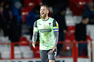 Disappointed  Scott Wagstaff of Wimbledon at full time during the EFL Sky Bet League 1 match between Accrington Stanley and AFC Wimbledon at the Fraser Eagle Stadium, Accrington, England on 1 February 2020.