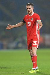 14th November 2017 - International Friendly - Wales v Panama - Marley Watkins of Wales - Photo: Simon Stacpoole / Offside.