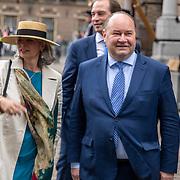 NLD/Den Haag/20190917 - Prinsjesdag 2019, Henk Otten en ..........