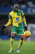 Youssuf Mulumbu of Norwich City in action. Barclays Premier league match, Chelsea v Norwich city at Stamford Bridge in London on Saturday 21st November 2015.<br /> pic by John Patrick Fletcher, Andrew Orchard sports photography.