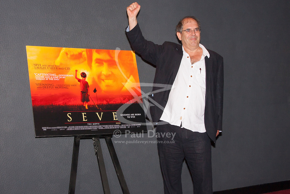 London, June 23rd 2014. John-Paul Davidson, Director, at the premiere of his film Seve, a biopic of the life of the legendary Spanish golfer Seve Ballesteros.
