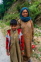 Kashmir, Jammu and Kashmir State; India.