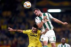Villarreal CF v SK Rapid Wien - 25 Oct 2018