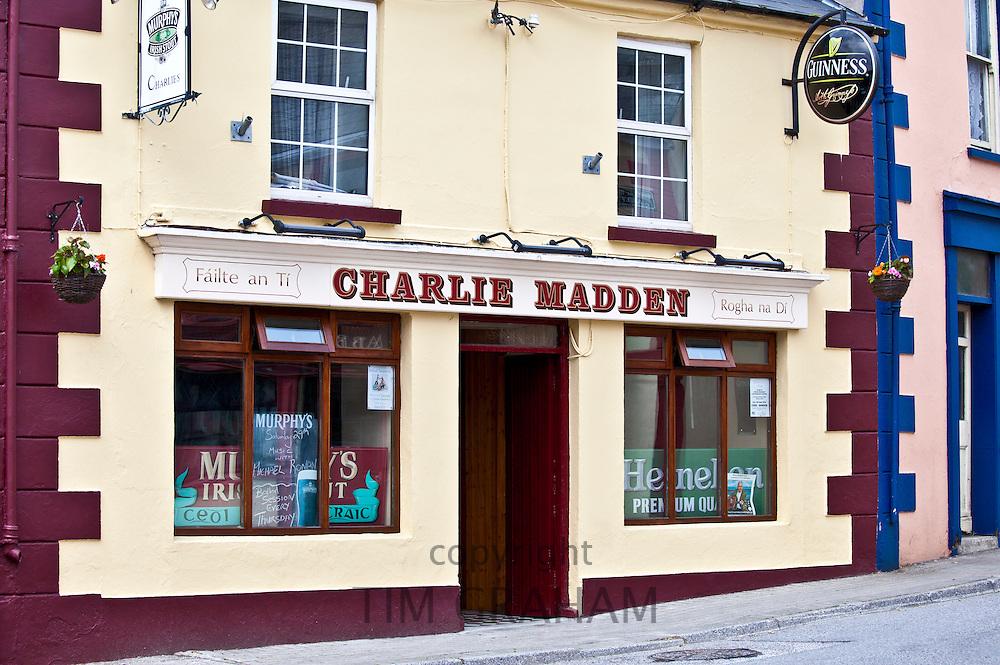 Charlie Madden's Bar in Timoleague, West Cork, Ireland