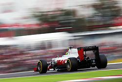Esteban Gutierrez (MEX) Haas F1 Team VF-16.<br /> 08.10.2016. Formula 1 World Championship, Rd 17, Japanese Grand Prix, Suzuka, Japan, Qualifying Day.<br /> Copyright: Moy / XPB Images / action press