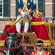 NLD/Den Haag/20190917 - Prinsjesdag 2019, koetsier Gouden Koets