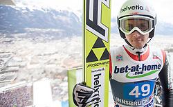 04.01.2014, Bergisel Schanze, Innsbruck, AUT, FIS Ski Sprung Weltcup, 62. Vierschanzentournee, Probesprung, im Bild Simon Ammann (SUI) // Simon Ammann (SUI) during Trial Jump of 62nd Four Hills Tournament of FIS Ski Jumping World Cup at the Bergisel Schanze, Innsbruck, Austria on 2014/01/04. EXPA Pictures © 2014, PhotoCredit: EXPA/ JFK