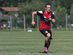 21.07.2015, Trainingsplatz, Walchsee, AUT, FC Augsburg, Trainingslager, im Bild Pjotr Trochowski (FC Augsburg #36) in Aktion, // during a training session of the German Bundesliga Club FC Augsburg at the Trainingsplatz in Walchsee, Austria on 2015/07/21. EXPA Pictures © 2015, PhotoCredit: EXPA/ Eibner-Pressefoto/ Krieger<br /> <br /> *****ATTENTION - OUT of GER*****