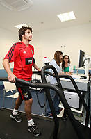 20100628: LISBON, PORTUGAL - SL Benfica starts 2010/2011 season. The players did the usual medical tests. In picture: Pablo Aimar. PHOTO: CITYFILES
