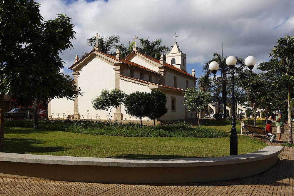 Itatiaiucu_MG. Brasil.<br /> <br />  Matriz Sao Sebastiao em Itatiaiucu, Minas Gerais.<br /> <br /> Sao Sebastiacao mother church in  Itatiaiucu, Minas Gerais.<br /> <br /> Foto: MARCUS DESIMONI / NITRO