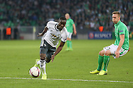 Eric Bailly Defender of Manchester United during the Europa League match between Saint-Etienne and Manchester United at Stade Geoffroy Guichard, Saint-Etienne, France on 22 February 2017. Photo by Phil Duncan.