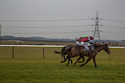 THE FIRST RACE ON THE NEW COURSE, Heythrop Point to Point. At a  new course at Cocklebarrow near Aldsworth. 11 January 2014