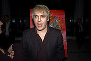 NICK RHODES, ArtSensus presents ' Naked Soul' by Meredith Ostrom in support of Youth for Youth. Howick Place. London. 12 March 2009