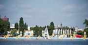 Poznan, POLAND. 2015 FISA European Rowing Championships. Venue, Lake Malta. Saturday 30.05.2015. [Mandatory Credit: Peter Spurrier/Intersport Images]