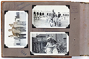 album page with family images 1951