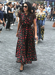 September 14, 2018 - New York City, New York, USA - 9/12/18.Huma Abedin is seen attending the Michael Kors Fashion Show during New York Fashion Week in New York City..(NYC) (Credit Image: © Starmax/Newscom via ZUMA Press)