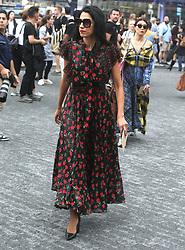 September 14, 2018 - New York City, New York, USA - 9/12/18.Huma Abedin is seen attending the Michael Kors Fashion Show during New York Fashion Week in New York City..(NYC) (Credit Image: © Starmax/Newscom via ZUMA Press)