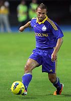 BILDET INNGÅR IKKE I FASTAVTALENE MEN MÅ KJØPES SEPARAT<br /> <br /> Fotball<br /> Foto: imago/Digitalsport<br /> NORWAY ONLY<br /> <br /> 25.07.2012<br /> Skopje (Former Yugoslav Republic Macedonia) FK Vardar-FK Bate Borisov UEFA Champions League qualifying 2nd leg <br /> <br /> Artem Kontsevoy FK Bate Borisov