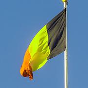 NLD/Amsterdam/20161128 - Belgisch Koningspaar start staatsbezoek aan Nederland, Belgische Vlag