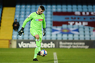 Bolton Wanderers goalkeeper Matthew Gilks (13) controls the ball during the EFL Sky Bet League 2 match between Scunthorpe United and Bolton Wanderers at the Sands Venue Stadium, Scunthorpe, England on 24 November 2020.
