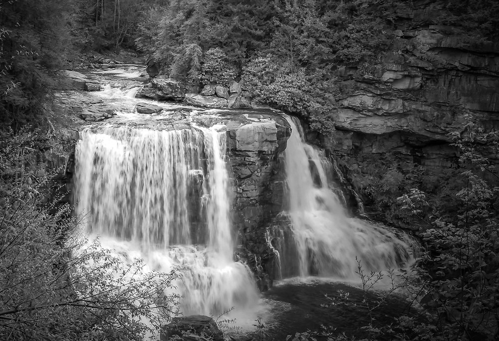 Blackwater Falls, WV most loved view of the beautiful mountain state.