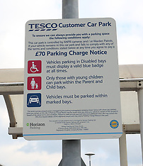 Tesco Car Parking