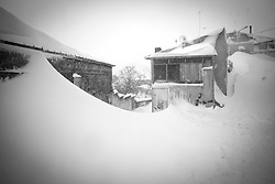 Rionero in V. (PZ) 08.02.2012 - Emergenza Neve in Basilicata. La situazione a Rionero in V. (PZ)