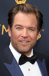 Michael Weatherly arriving for The 68th Emmy Awards at the Microsoft Theater, LA Live, Los Angeles, 18th September 2016.
