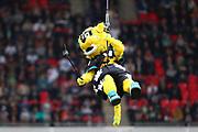 Jaguars mascot during the NFL game between Houston Texans and Jacksonville Jaguars at Wembley Stadium in London, United Kingdom. 03 November 2019