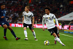 November 10, 2017 - London, England, United Kingdom - Leroy Sane of Germany ..during International Friendly match between England  and Germany  at Wembley stadium, London  on 10 Nov  , 2017 ..during International Friendly match between England  and Germany  at Wembley stadium, London  on 10 Nov  , 2017  (Credit Image: © Kieran Galvin/NurPhoto via ZUMA Press)