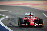 05 VETTEL sebastian (ger) ferrari sf15t action during 2015 Formula 1 FIA world championship, Bahrain Grand Prix, at Sakhir from April 16 to 19th. Photo Clément Marin / DPPI