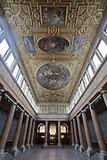 Universities in Vienna, Austria..Akademie der bildenden Künste Wien..The Aula.