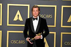 92nd Annual Academy Awards Oscar Ceremony - Press Room 9 Feb 2020