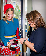 Queen Maxima Of The Netherlands  Attends Attends The Kwadraat Foundation Jubilee In Amsterdam